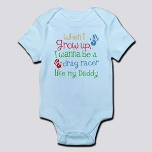 Future Drag Racer Infant Bodysuit