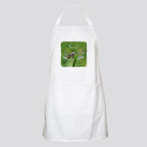 """Smile!"" Dragonfly--  BBQ Apron"