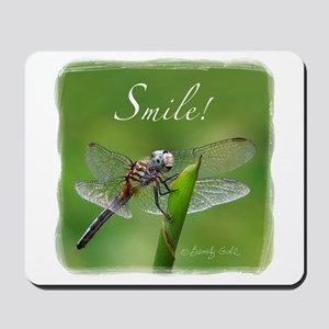 """""""Smile!"""" Dragonfly--  Mousepad"""