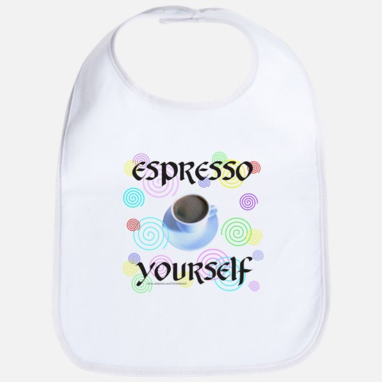 EspressoYourself Baby Bib
