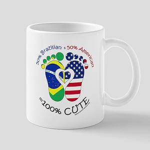 Brazilian American Baby Mug
