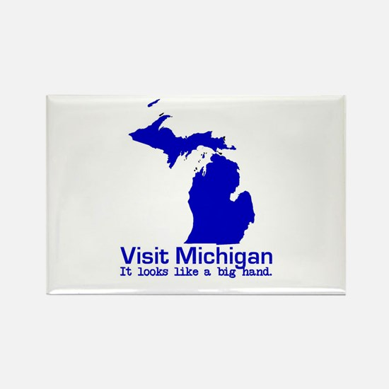 Visit Michigan . . . It Looks Rectangle Magnet