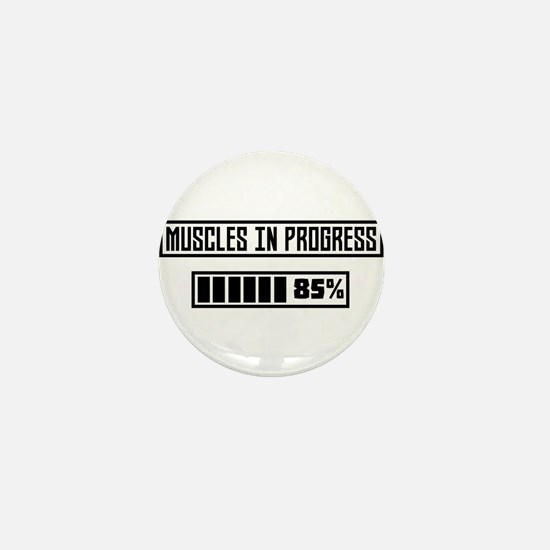 Muscles in progress workout C1l52 Mini Button