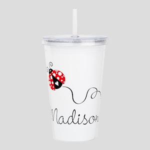 Ladybug Madison Acrylic Double-Wall Tumbler
