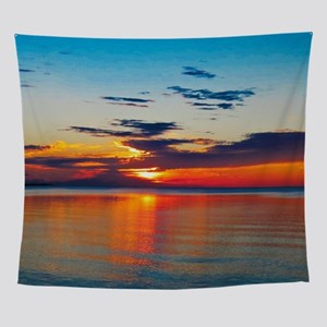 Evening Sunset Wall Tapestry