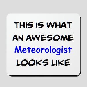 awesome meteorologist Mousepad
