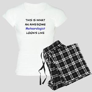 awesome meteorologist Women's Light Pajamas