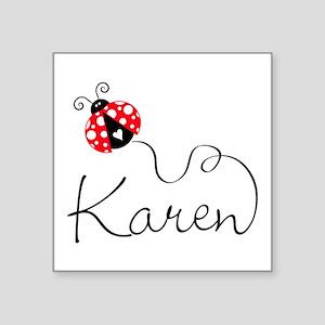 Ladybug Karen Sticker