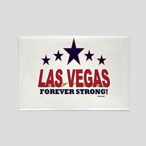 Las Vegas Forever Strong! Rectangle Magnet