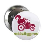 "Mid City Gras Logo 2.25"" Button (100 Pack)"