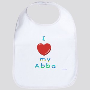 I Love My Abba Bib