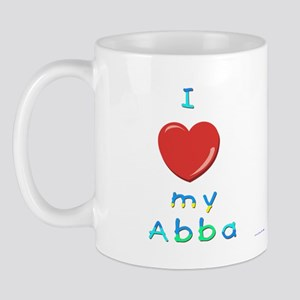I Love My Abba Mug