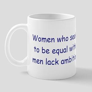 Women's equality Mug