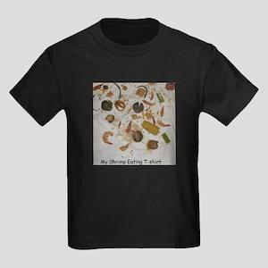 Shrimp Eating T-shirt Kids Dark T-Shirt
