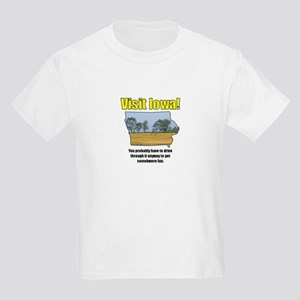 Visit Iowa . . . You Probably Kids Light T-Shirt