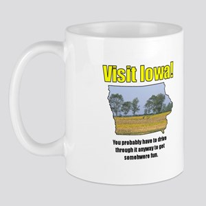 Visit Iowa . . . You Probably Mug