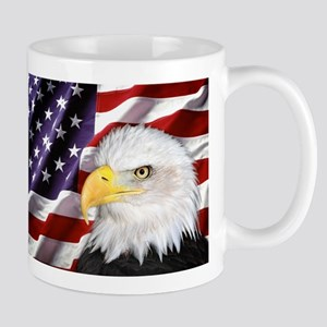 flag-eagle-banner2 Mugs