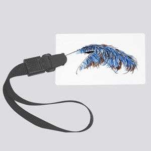 A is for Anteater Large Luggage Tag