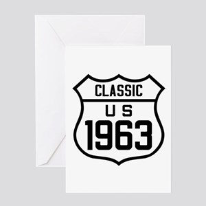 Classic US 1963 Greeting Cards