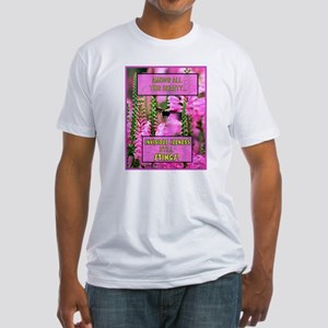 Invisible Illness Stings Fitted T-Shirt