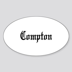 Compton, California Oval Sticker
