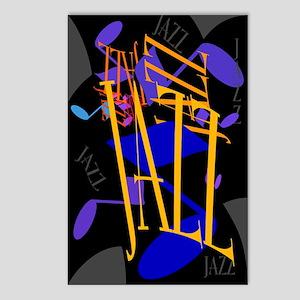 Jazz Jazz Jazz Postcards (Package of 8)