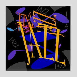 Jazz Jazz Jazz Tile Coaster