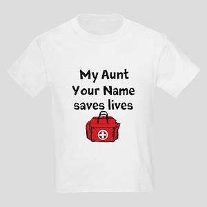My Aunt Saves Lives Paramedic (Custom) T-Shirt