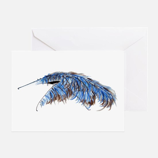 A Is For Anteater N Card Greeting Cards
