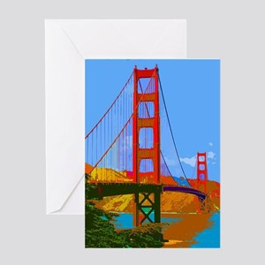 Golden Gate Bridge 009 Greeting Cards