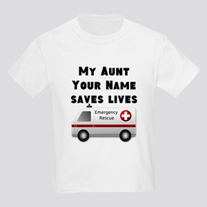 My Aunt Saves Lives Ambulance (Custom) T-Shirt