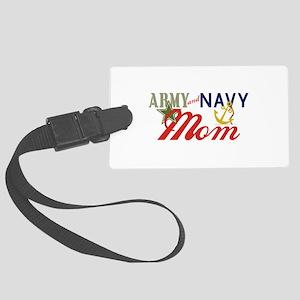 Army Navy Mom Luggage Tag