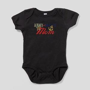 Army Navy Mom Baby Bodysuit