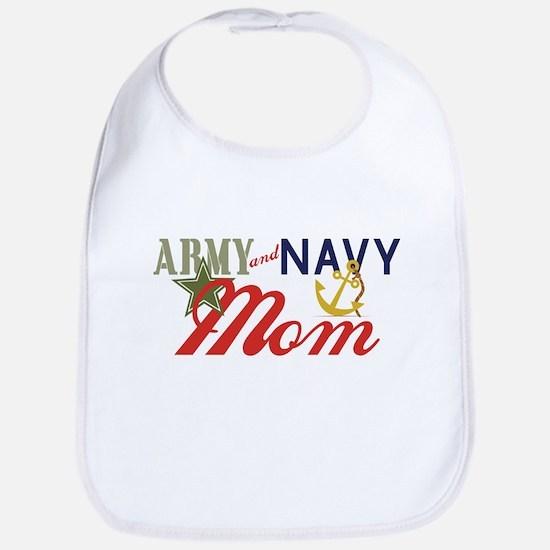 Army Navy Mom Bib