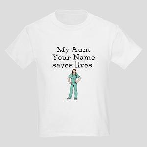 My Aunt Saves Lives (Custom) T-Shirt