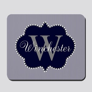 Monogrammed Design by LH Mousepad