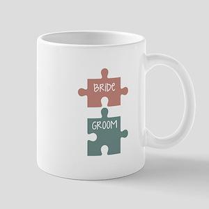 Bride Groom Mugs