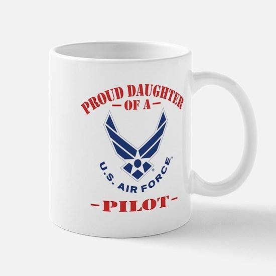 Proud US Air Force Daughter Mug