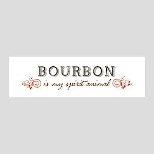 Bourbon Is My Spirit Animal Wall Decal