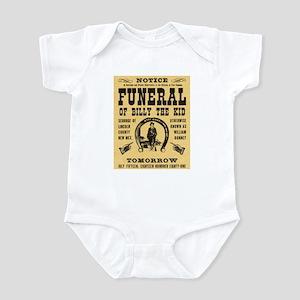 Billy's Funeral Infant Bodysuit