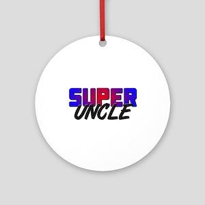 SUPER UNCLE Ornament (Round)