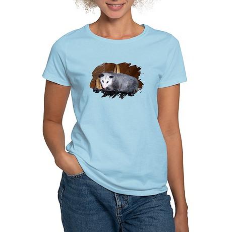 Possum on a Shelf Women's Light T-Shirt