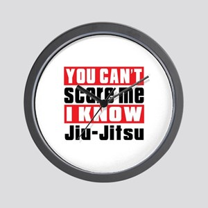 I Know Jiu-Jitsu Wall Clock