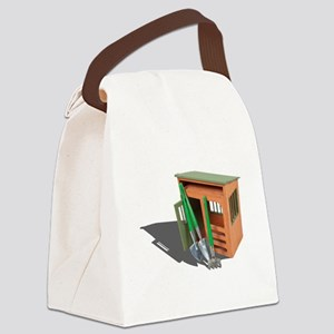 GardenShedTools030111 Canvas Lunch Bag