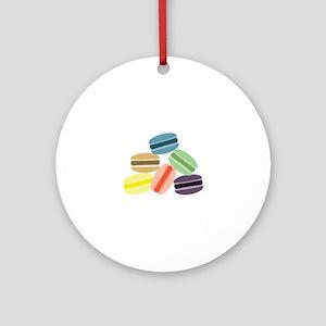Macaroon Cookies Ornament (Round)