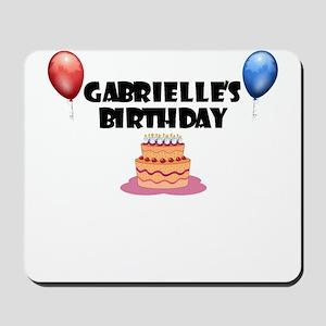 Gabrielle's Birthday Mousepad