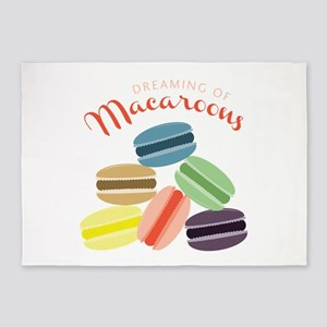 Dreaming of Macaroons 5'x7'Area Rug