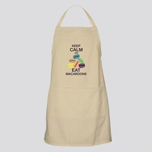 Keep Calm Eat Macaroons Apron