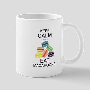 Keep Calm Eat Macaroons Mugs