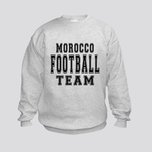 Morocco Football Team Kids Sweatshirt